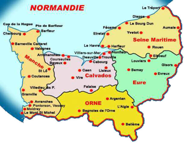 normany-map